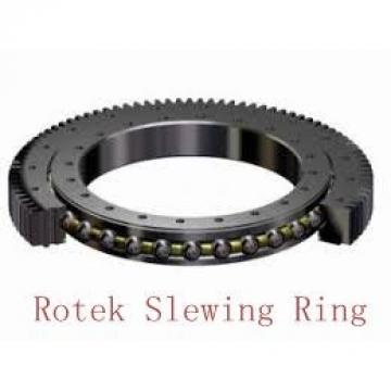 construction machinery single row angular contact ball type slewing bearing