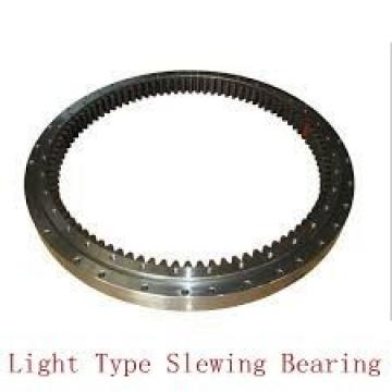 heavy load three row roller slewing gear bearing for textile equipment