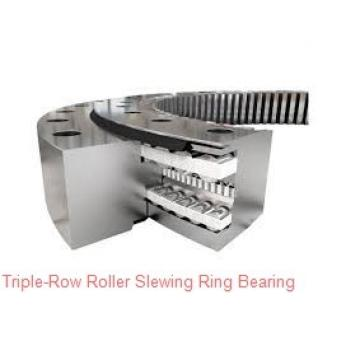Double row ball slewing ring bearing for crawler crane, heavy loading equipment