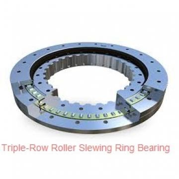 large size double row ball slewing bearing with gear
