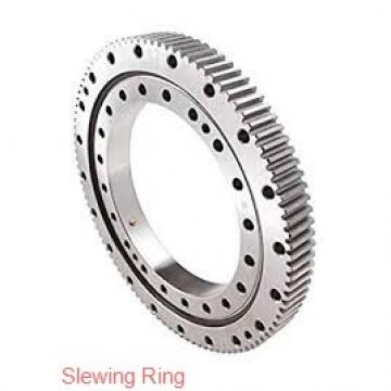 light weight external or internal gear single row ball slewing ring bearing