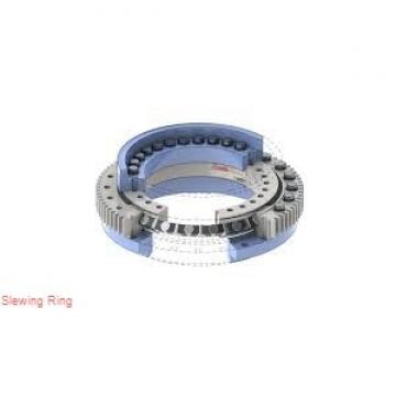 gear heat treatment single row contact ball small slew ring bearings