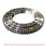 Thin types lazy susan bearings for crown rotation
