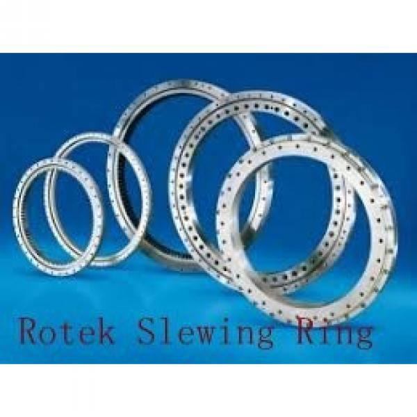 light types four point contact ball swing ring bearing #1 image