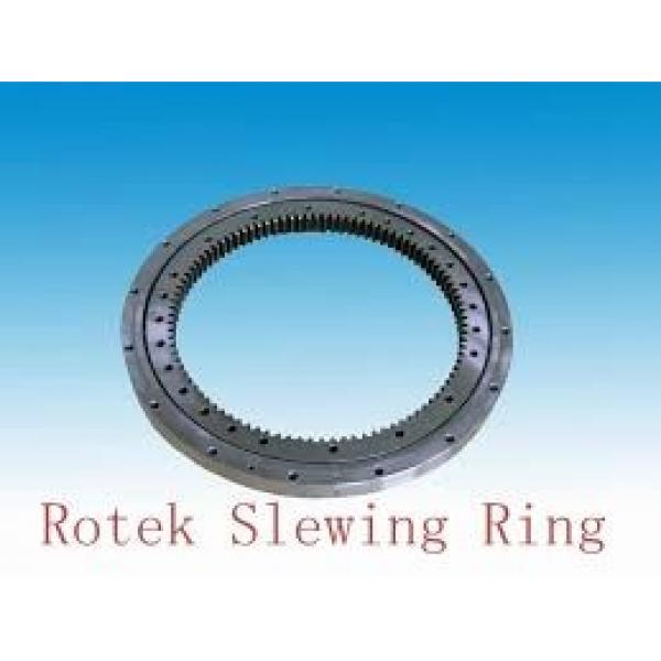 SLEWING RING BEARING WITH TEMPERING AND QUENCHING OUT AND INTERNAL TOOTH #1 image
