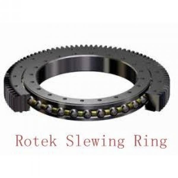 construction machinery single row angular contact ball type slewing bearing #1 image