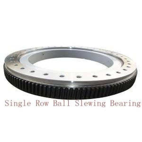 double row ball slewing bearing used on truck mounted cranes #1 image