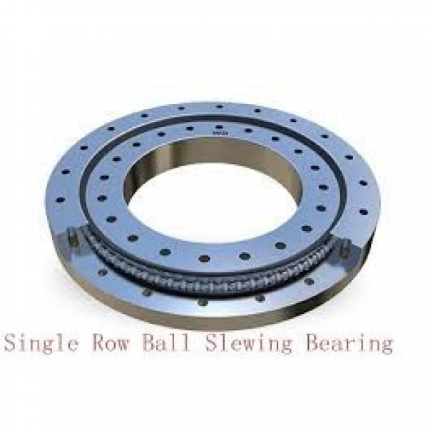 three row roller small slewing bearing with gear #2 image