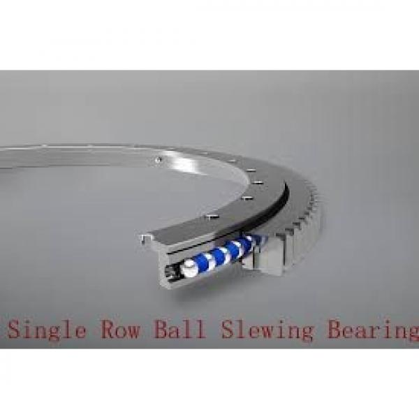 double row ball slewing bearing used on truck mounted cranes #2 image
