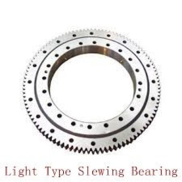 double row ball slewing bearing slewing bearing without gear #3 image