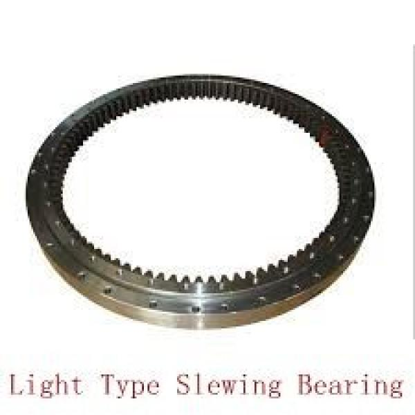 heavy load three row roller slewing gear bearing for textile equipment #2 image