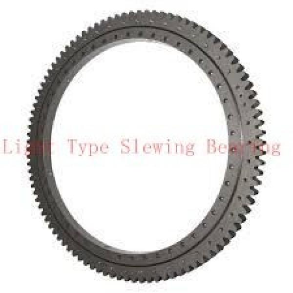 double row ball slewing bearing slewing bearing without gear #2 image