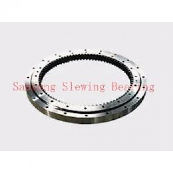 double row contact ball rotating slewing ring bearing #1 image