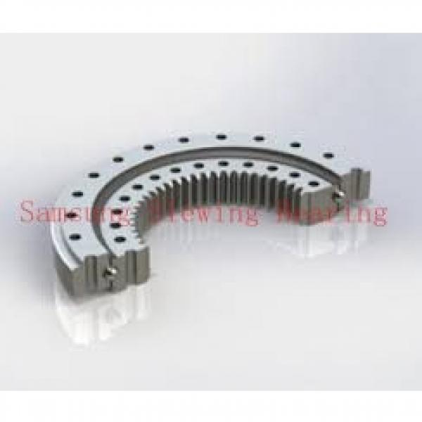 double rows ball slewing ring for turret rotation military robot equipment #1 image