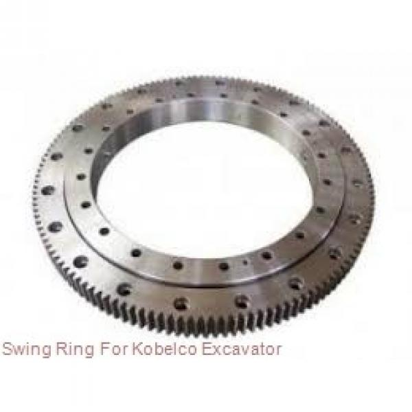 light types slewing gear bearing,turntable bearing for rotary drilling rig #2 image