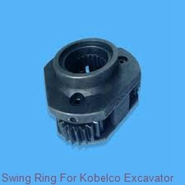 light types slewing gear bearing,turntable bearing for rotary drilling rig #1 image
