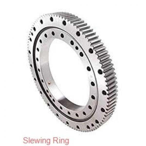 light weight external or internal gear single row ball slewing ring bearing #1 image