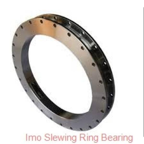 hot sales thin types four point contact ball slewing gear bearing,turntable bearing #3 image