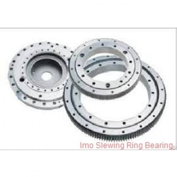 china manufacturer low price tower crane parts slew ring bearing with gear #1 image