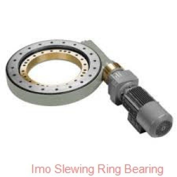 slewing ring bearing with toothed outer ring #1 image