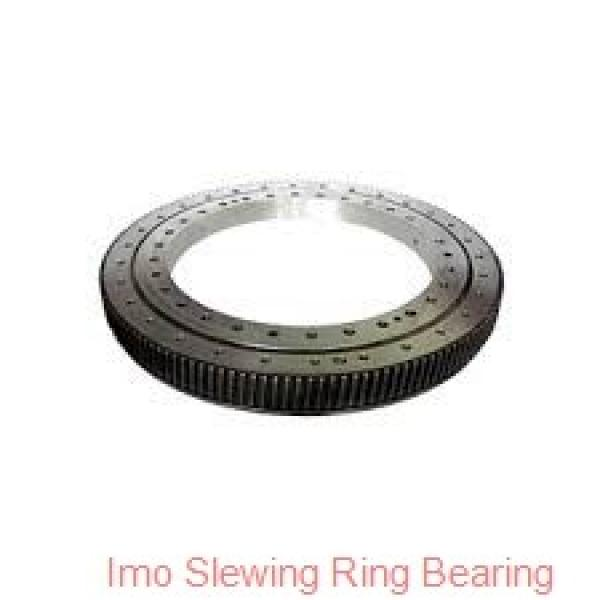 hot sales thin types four point contact ball slewing gear bearing,turntable bearing #1 image