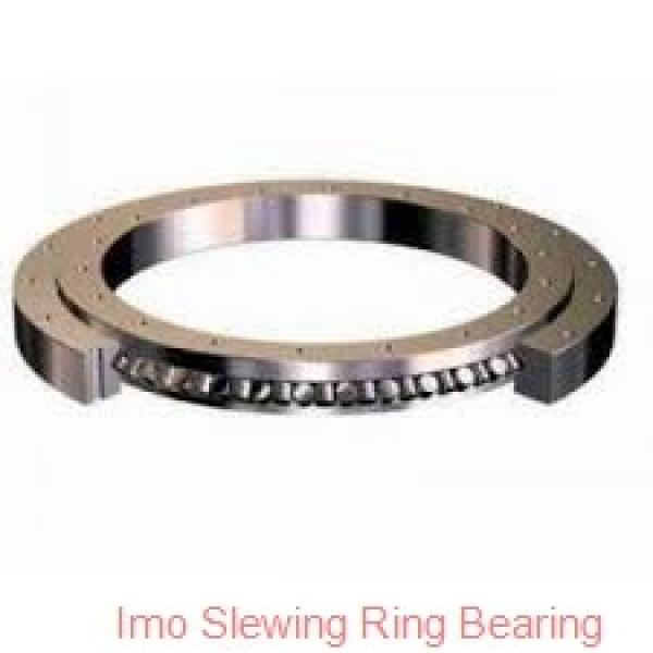 china manufacturer low price tower crane parts slew ring bearing with gear #2 image