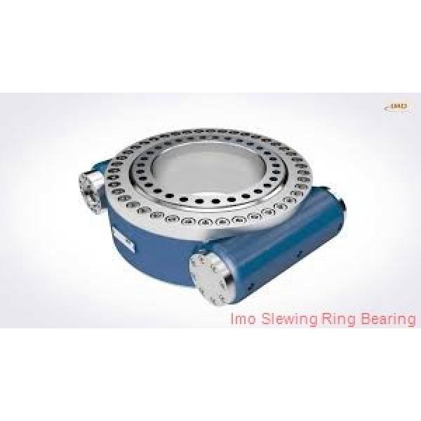 hot sales thin types four point contact ball slewing gear bearing,turntable bearing #2 image