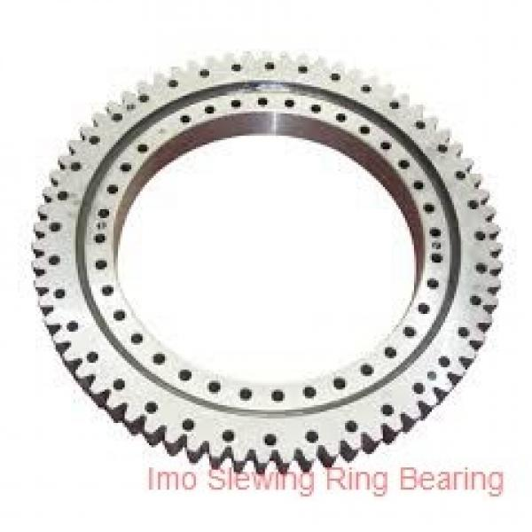 china manufacturer low price tower crane parts slew ring bearing with gear #3 image