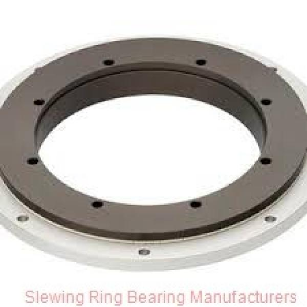 STOCK CODE832217 large size double row ball slewing bearing with gear #2 image