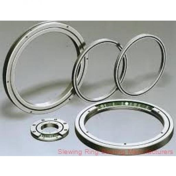 STOCK CODE832217 large size double row ball slewing bearing with gear #3 image