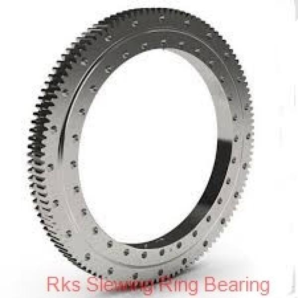 Single Row Four-Point Angular Contact Slewing Bearing Non-Gear #1 image