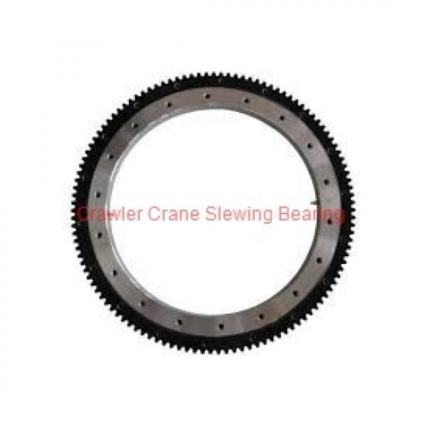Single-Row Four-Point Contact Ball Slewing Ring Slewing Bearing Swing Ring for Tower Crane #1 image
